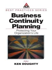 Cover of: Business Continuity Planning | Ken Doughty