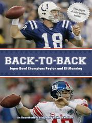 Back-to-back Super Bowl champions Peyton and Eli Manning by Hugh Hudson