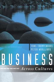 Cover of: BUSINESS ACROSS CULTURES | FONS TROMPENAARS