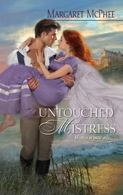 Cover of: Untouched mistress | Margaret McPhee