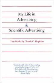 Cover of: My life in advertising ; Scientific advertising
