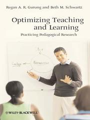 Cover of: Optimizing Teaching and Learning | Regan A. R. Gurung