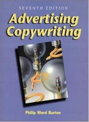 Cover of: Advertising copywriting