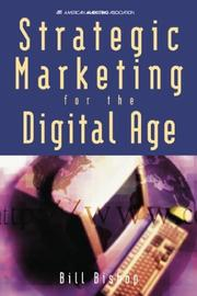 Cover of: Strategic marketing for the digital age