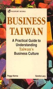 Cover of: Business Taiwan