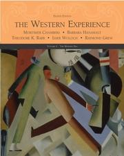 Cover of: The Western Experience Volume C, with Powerweb | Mortimer Chambers
