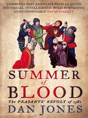 Cover of: Summer of blood by Daniel Jones