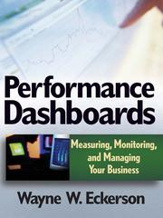 Cover of: Performance Dashboards | Wayne W. Eckerson