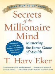 Cover of: Secrets of the Millionaire Mind | T. Harv Eker