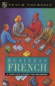 Cover of: Business French | Barbara Coultas