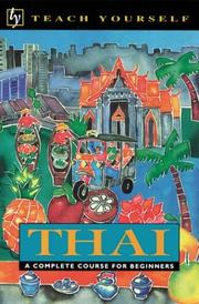 Cover of: Thai