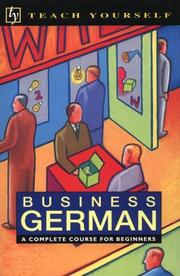 Cover of: Business German | Andrew Castley