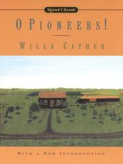 Cover of: O Pioneers! | Willa Cather