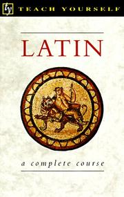 Latin by Gavin Betts