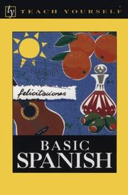 Cover of: Basic Spanish | Juan KattaМЃn-Ibarra