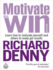 Cover of: Motivate to Win | Richard Denny