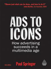 Cover of: Ads to Icons | Paul Springer