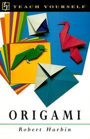 Origami by Harbin, Robert