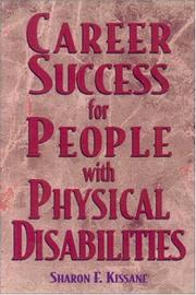 Cover of: Career success for people with physical disabilities
