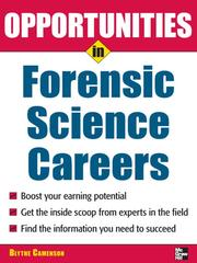 Cover of: Opportunities in Forensic Science | Blythe Camenson