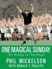 Cover of: One magical Sunday by Phil Mickelson
