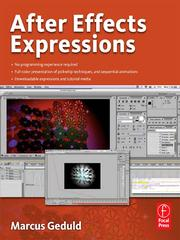 Cover of: After Effects Expressions | Marcus Geduld