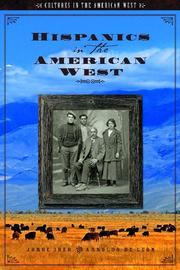Cover of: Hispanics in the American West | Jorge Iber
