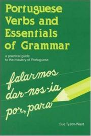 Cover of: Portuguese verbs & essentials of grammar