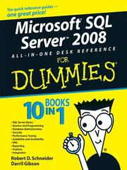 Cover of: Microsoft SQL ServerTM 2008 All-in-One Desk Reference For Dummies® | Darril Gibson