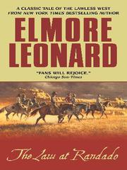 Cover of: The Law at Randado | Elmore Leonard