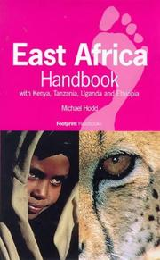 Cover of: East Africa Handbook