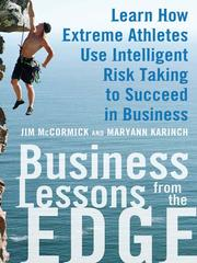 Cover of: Business lessons from the edge | Jim McCormick