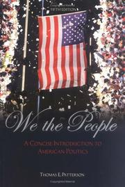 Cover of: We The People with PowerWeb   | Thomas E. Patterson