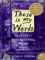 Cover of: These is My Words | Nancy Turner