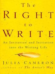 Cover of: The Right to Write | Julia Cameron