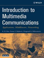 Cover of: Introduction to Multimedia Communications | Rao, K. Ramamohan