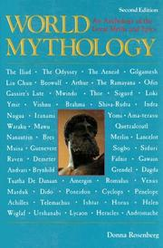 Cover of: World mythology