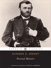 Cover of: Memoirs by Ulysses S. Grant
