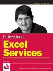 Cover of: Professional Excel services | Shahar Prish