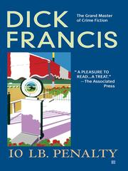 Cover of: 10 lb Penalty | Dick Francis