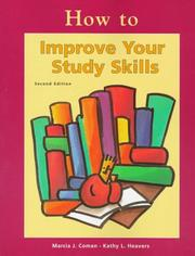 Cover of: How to improve your study skills
