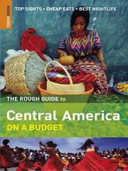Cover of: The Rough Guide to Central America on a Budget 1 | Not Available (NA)