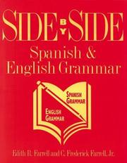 Cover of: Side by side. | Edith R. Farrell