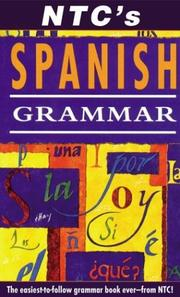 NTC's Spanish grammar (1998 edition) | Open Library