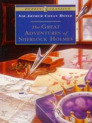 Cover of: The Great Adventures of Sherlock Holmes | Arthur Conan Doyle