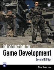 Cover of: Introduction to game development |