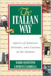Cover of: The Italian way