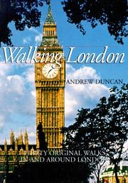Cover of: Walking London | Duncan, Andrew