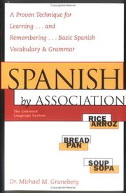 Cover of: Spanish by Association
