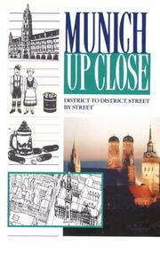 Cover of: Munich up close
